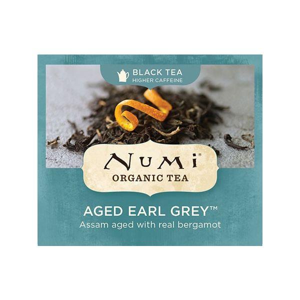 Chá Preto Orgânico Envelhecido Earl Grey Numi 1