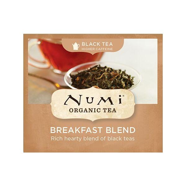 Chá Preto Orgânico Breakfast Blend Numi 1
