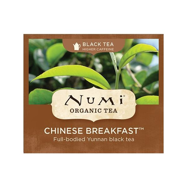 Chá Preto Orgânico Chinese Breakfast Numi 1