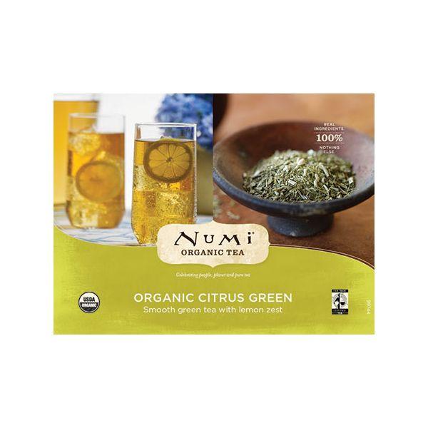 Chá Verde Orgânico FS Citrus Iced Numi Sachê 2