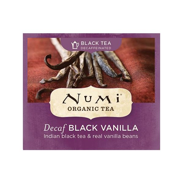 Chá Preto Orgânico Descafeinado Baunilha Numi 1