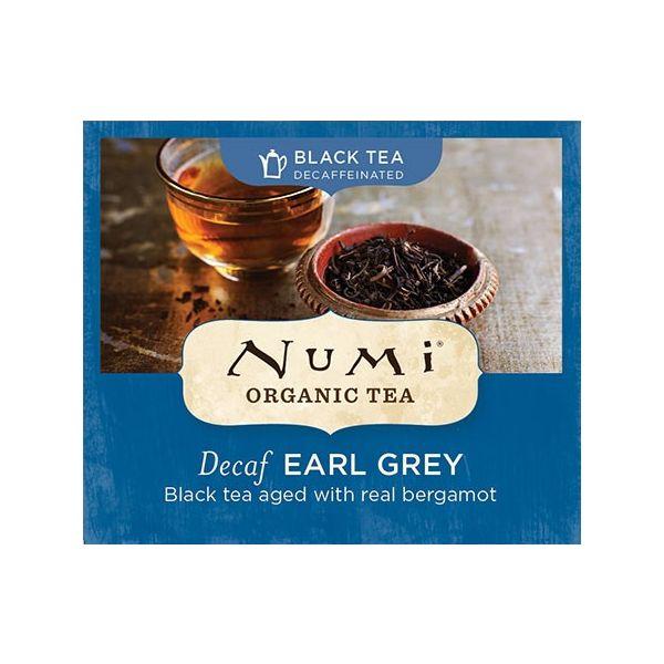 Chá Preto Orgânico Descafeinado Earl Grey Numi 1