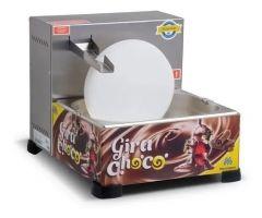 DERRETEDEIRA DE CHOCOLATE 5KG GIRA-CHOCO BANHO MARIA INOX DR2.151 220V MARCHESONI 1