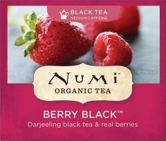 Chá Preto Orgânico Frutas Vermelhas Numi 1