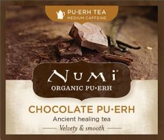 Chá Preto Orgânico Pu-erh Chocolate Numi 1