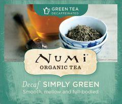 Chá Verde Orgânico Descafeinado Simply Green Numi 1