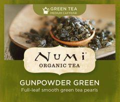 Chá Verde Orgânico Gunpowder Numi 1