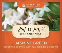 Chá Verde Orgânico Jasmim Numi 1