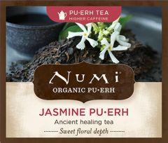 Chá Pu-erh Orgânico Jasmim Numi 1