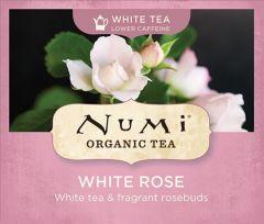 Chá Branco Orgânico Rosa Branca Numi 1