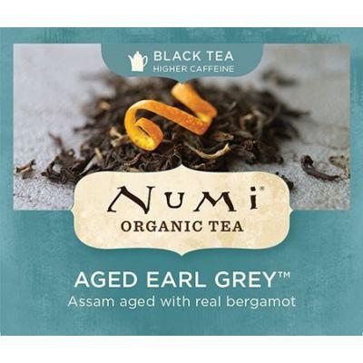 Chá Preto Orgânico Envelhecido Earl Grey Numi