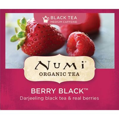 Chá Preto Orgânico Frutas Vermelhas Numi