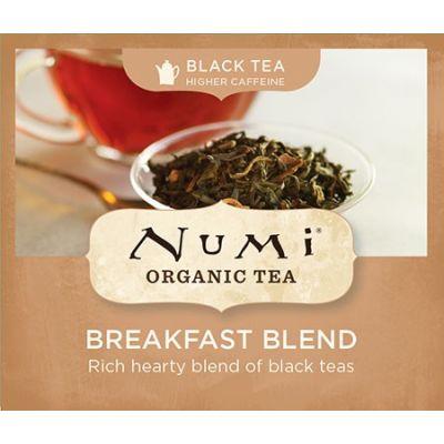Chá Preto Orgânico Breakfast Blend Numi