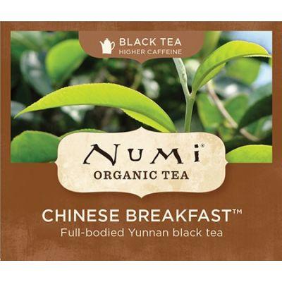 Chá Preto Orgânico Chinese Breakfast Numi