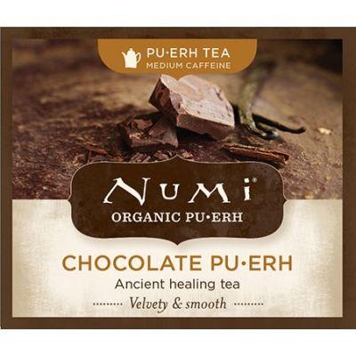 Chá Preto Orgânico Pu-erh Chocolate Numi