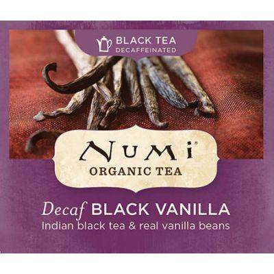 Chá Preto Orgânico Descafeinado Baunilha Numi