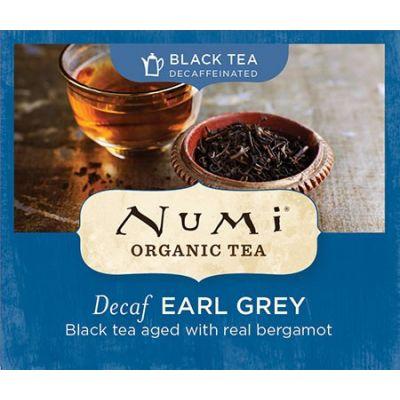 Chá Preto Orgânico Descafeinado Earl Grey Numi