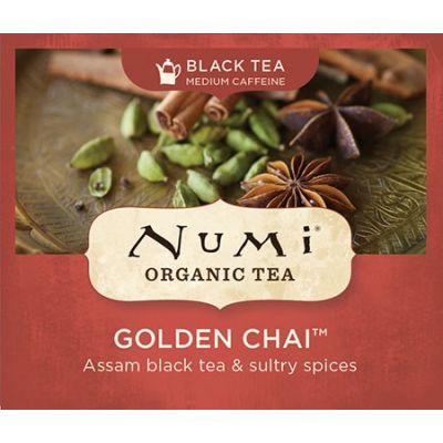 Chá Preto Orgânico Golden Chai Numi