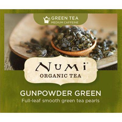 Chá Verde Orgânico Gunpowder Numi