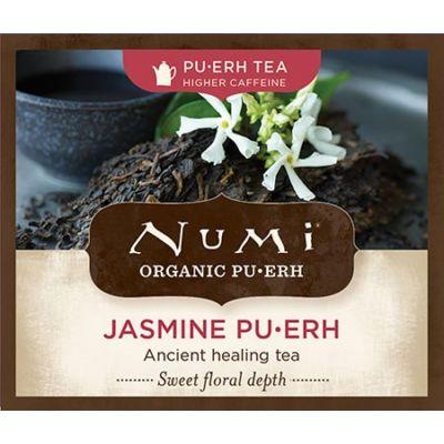 Chá Pu-erh Orgânico Jasmim Numi