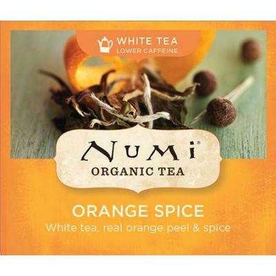 Chá Branco Orgânico Laranja Especiarias Numi