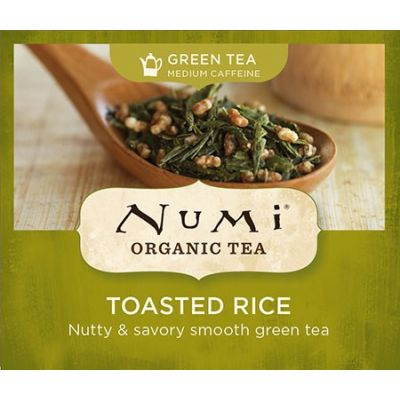 Chá Verde Orgânico Japonês Tradicional Toasted Rice Numi