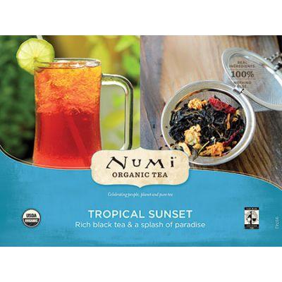 Chá Preto Orgânico FS Tropical Iced Numi Sachê 2