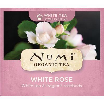 Chá Branco Orgânico Rosa Branca Numi
