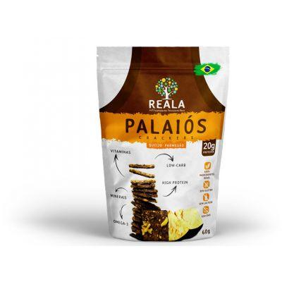 Biscoito Fino Proteico Natural Queijo Parmesão Palaiós 60g